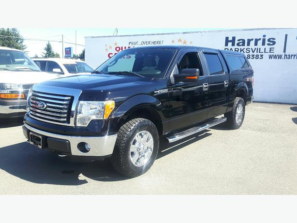 USED 2011 FORD F-150 4x4 SUPER CREW FOR SALE IN PARKSVILLE