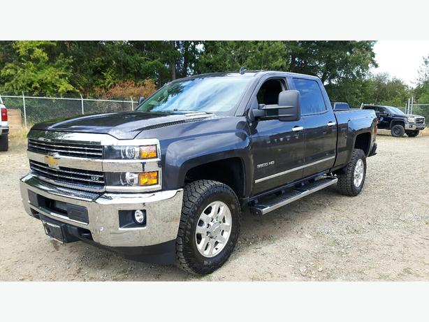 USED 2015 CHEVROLET SILVERADO LTZ 3500 HD 4X4 FOR SALE IN PARKSVILLE