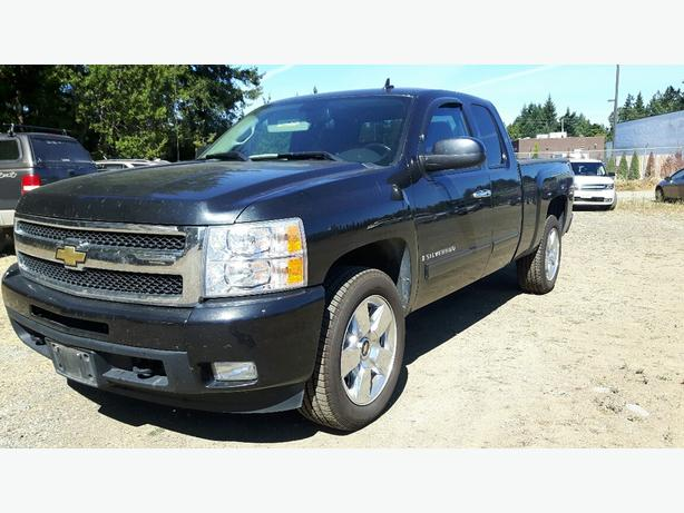 USED 2009 CHEVROLET SILVERADO 1500 LTZ 2WD FOR SALE IN PARKSVILLE