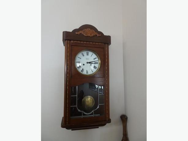 Antique German Wall Clock by Mauthe Clock Company