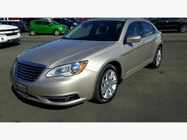 USED 2013 CHRYSLER 200 TOURING FOR SALE IN PARKSVILLE