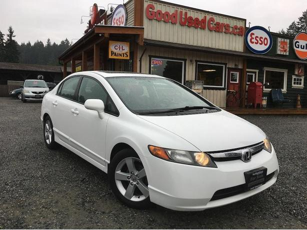 2008 Honda Civic EX 5 Speed with Alloys & Sunroof