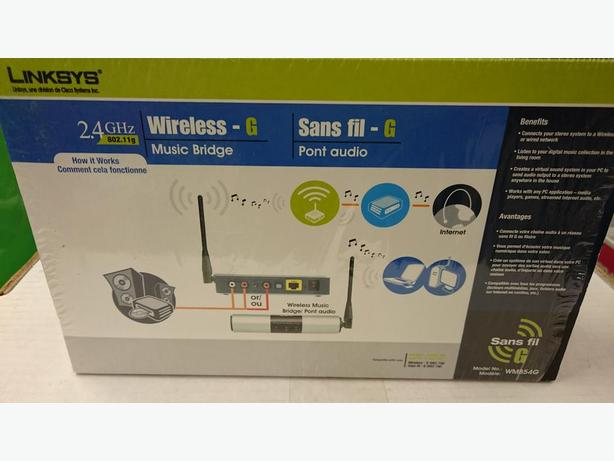 Linksys Wireless-G Music Bridge (WMB54G) Oak Bay, Victoria