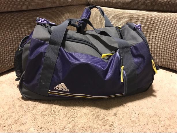 Gym bag (Adidas workout bag)