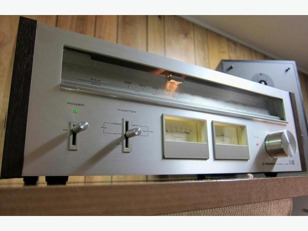 NICE CLASSIC PIONEER TX-6700 STEREO TUNER SWEET SOUND !