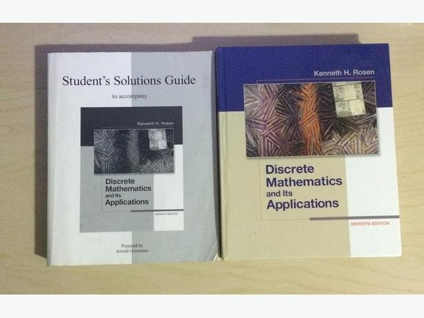Discrete Mathematics Amp Its Applications With Solution Guide 7th