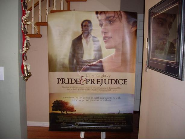 POSTER BANNER PRIDE AND PREJUDICE