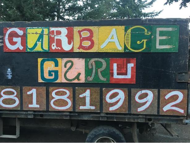 Garbage guru clean up