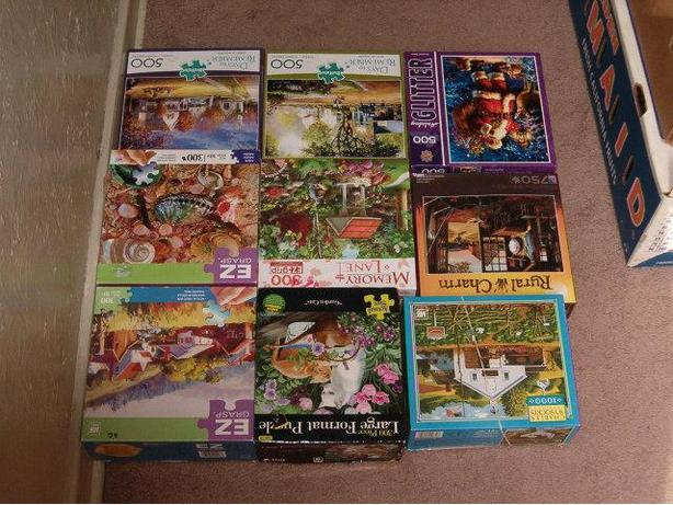 puzzle  and more puzzle , $5.00 each