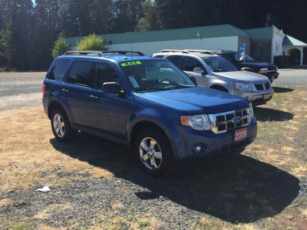 Weekend Special 2009 Ford Escape XLT 4WD 3.0L V6 Only 159648Kms No Accidents