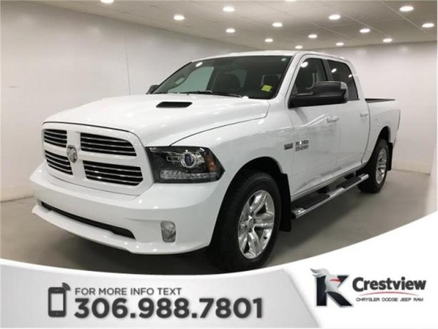 2017 Ram 1500 Sport Crew Cab | Leather | Sunroof | Navigation