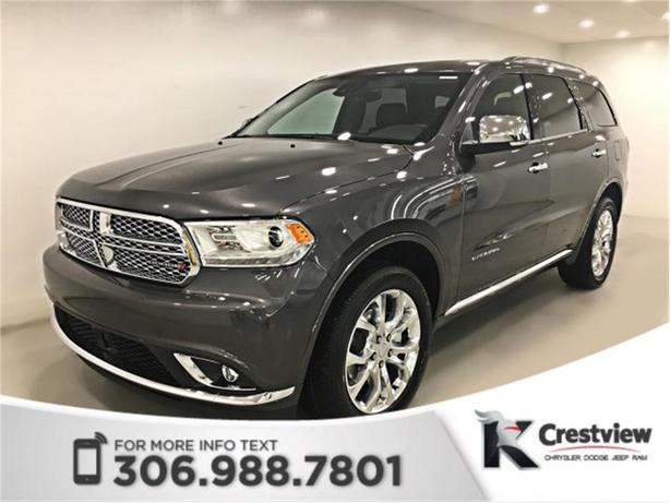 2017 Dodge Durango Citadel AWD | Sunroof | Navigation | DVD