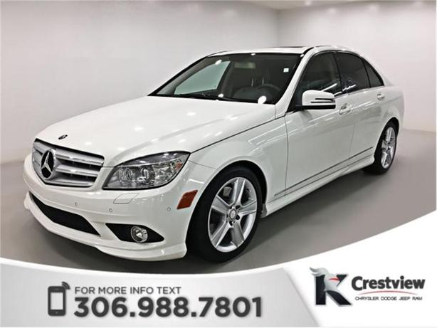 2010 Mercedes Benz C Class C 300 Leather Sunroof