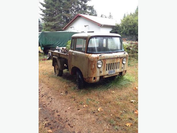 Unique 1960 Willys Jeep Forward Cab 150 4x4