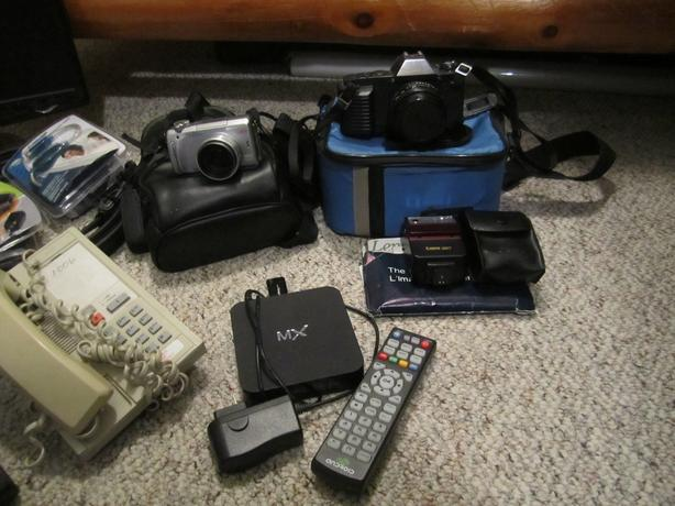 Misc. Cameras, Phones, Monitors, Android Box, Cables