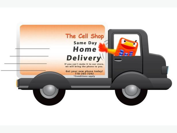 The Cell Shop: Same Day Home Delivery & Setup!