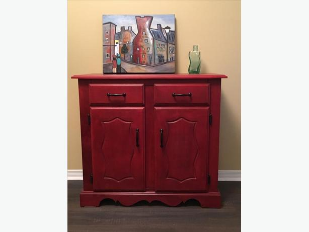 Accent Dresser or Buffet in Emperor Red