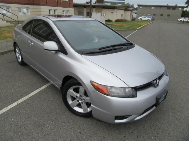2006 Honda Civic EX Coupe, Auto, Sunroof , One Owner, Local Victoria