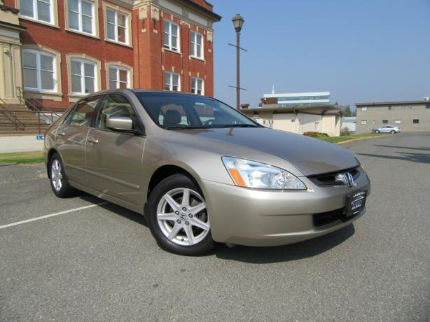 2003 Honda Accord EX-L  V6, Leather, Sunroof, No Accidents