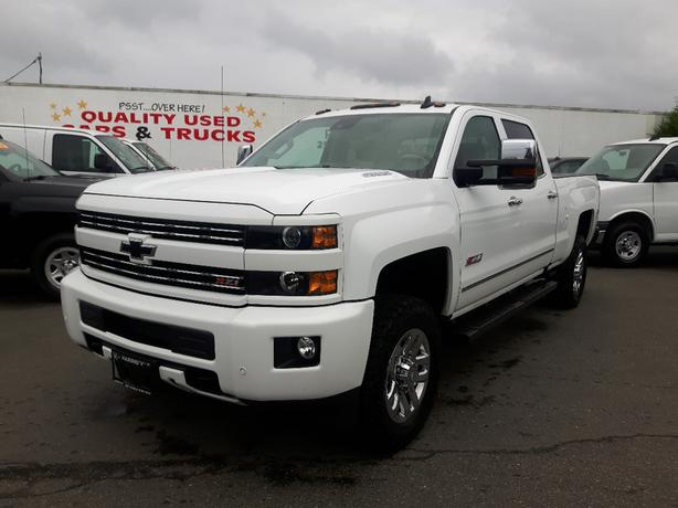 USED 2016 CHEVROLET SILVERADO LTZ 3500 HD 4X4 FOR SALE IN PARKSVILLE