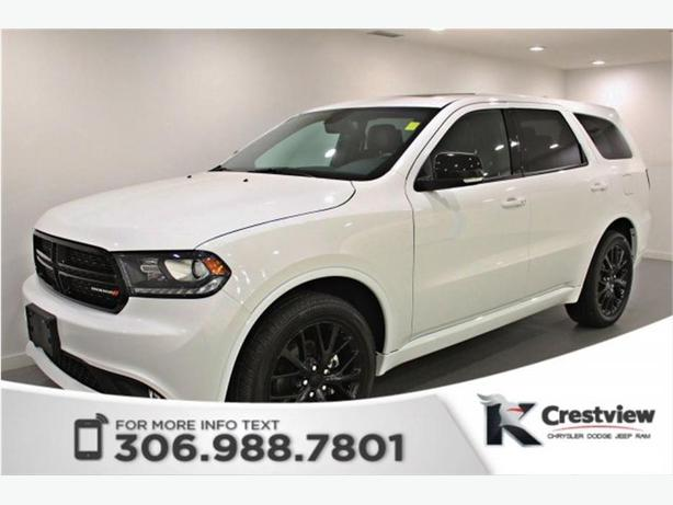 2016 Dodge Durango Limited Blacktop AWD V6 | Sunroof | DVD