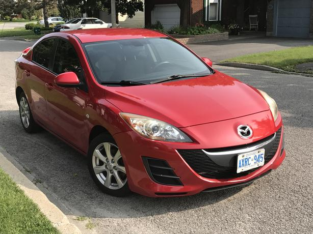 2010 Mazda 3, Include winter tires and auto starter