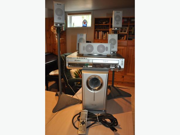 Panasonic DVD/VCR home theatre system - Cinéma maison