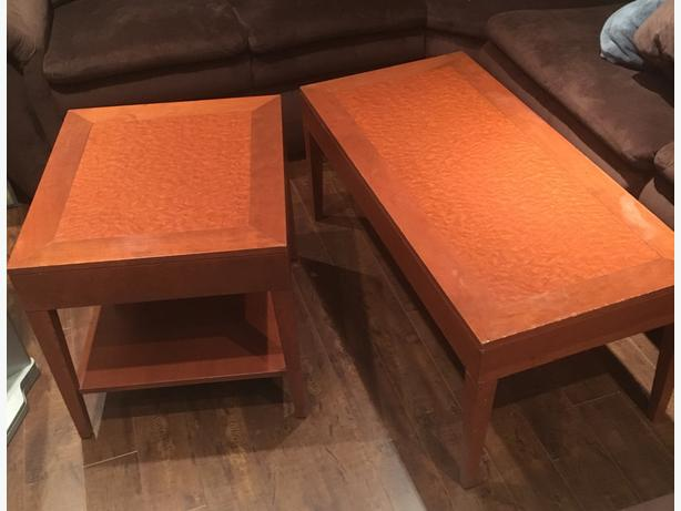 Dresser/2 Night tables/2 lamps/Coffee Tables