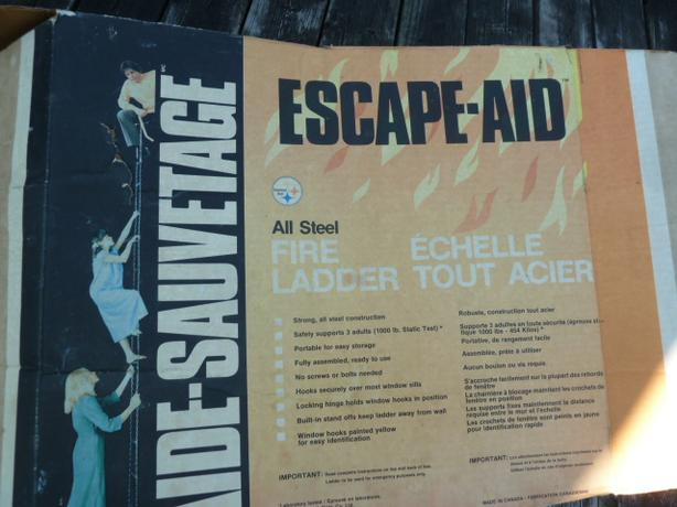 Escape-aid 12 Foot Steel ESCAPE LADDER
