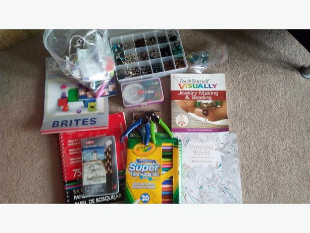 Jewelry and misc craft supplies worth over 300$