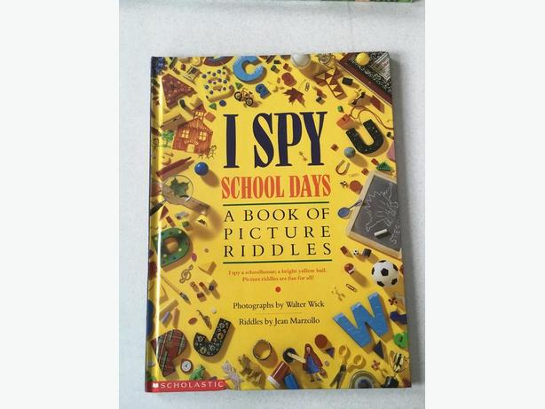 I SPY HARD COVER BOOKS by Scholastic
