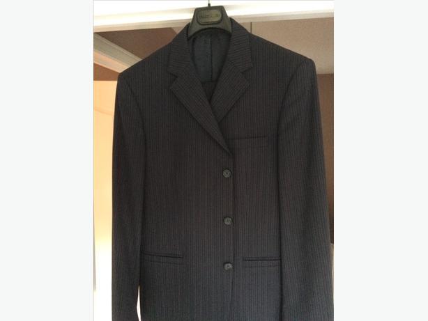 Men's Versace Dark Blue Suit
