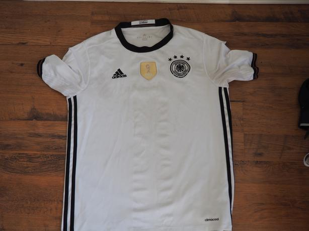 328609373 Germany Adidas soccer jersey. Germany Adidas soccer jersey  Germany Adidas  soccer jersey. White home germany soccer jersey from 2016 Euro.