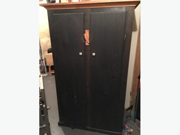 Pine armoir