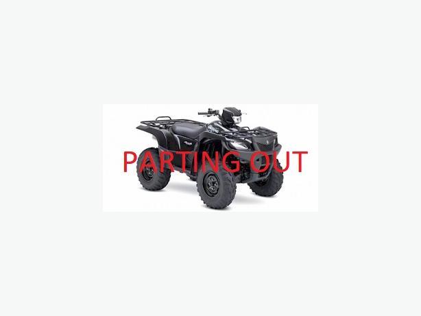 PARTING OUT - 2007 Suzuki King Quad 700 EFI