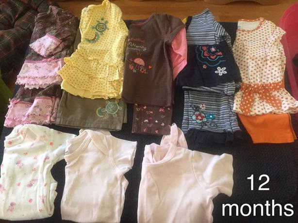 girl 12 months large bundle