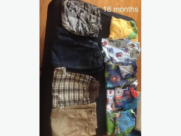 boy 18 months clothes