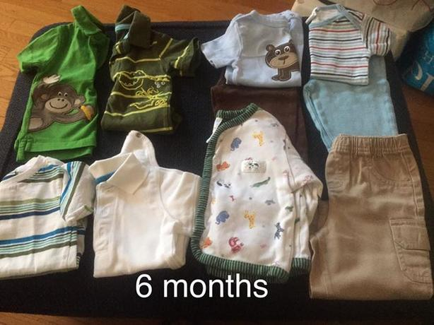 boy clothes 6 months