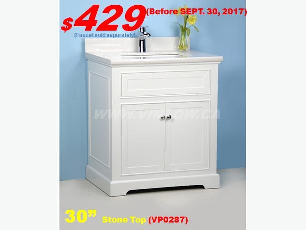 Bathroom Vanities Up to 45% Off/Huge Selection/Affordable Price/High Quality