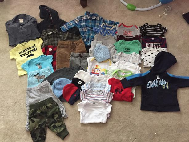 Baby boy clothing lot 3-6 month