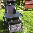 Wheelchair with accessories