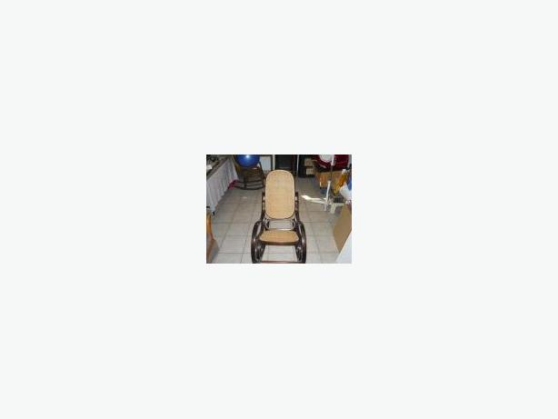 2 Wooden rocking chairs