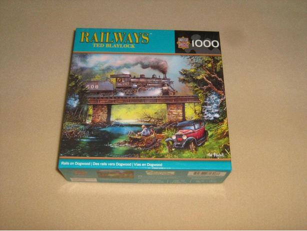 MASTER  PIECES  1000  PIECES  JIGSAW  PUZZLES