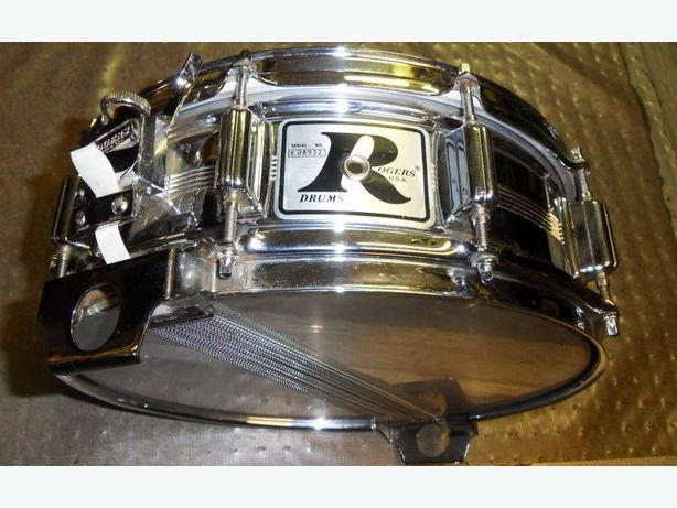 "1975 Rogers Big R Snare Drum (First Year) 14""x5"""