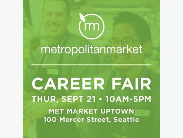 Metropolitan Market Career Fair - September 21st!