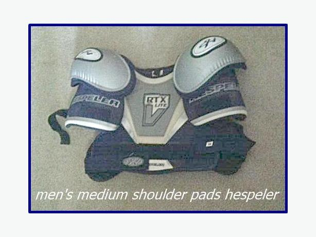 Hockey shoulder pads , men's medium