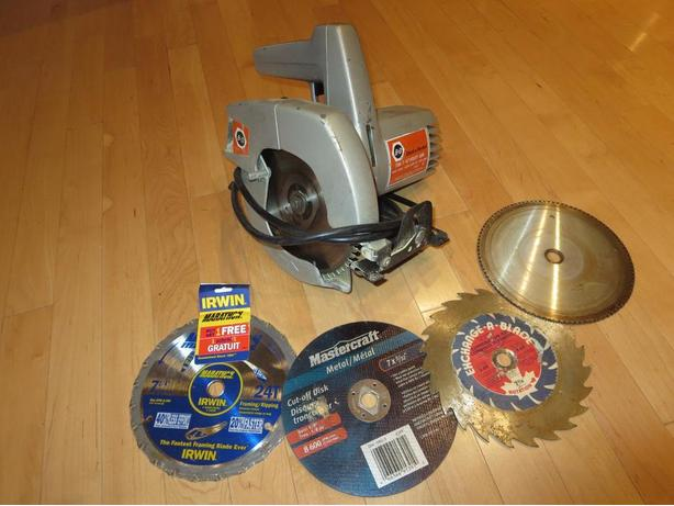 "Black & Decker 9 amp, 71/4"" Circular Saw"