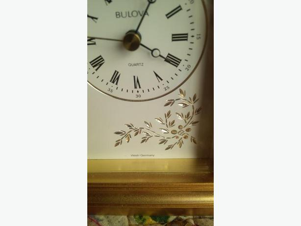 Beautiful vintage Bulova clock