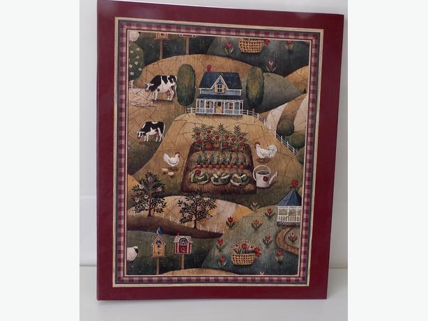 Large Scrapbook Farmhouse Scene - As New / Never Used
