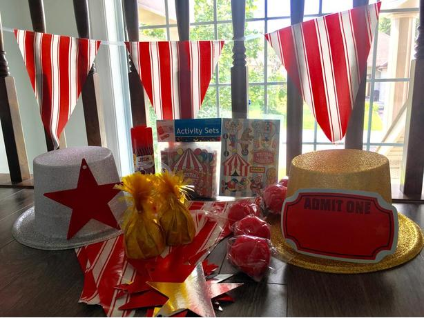 Carnival Themed Party Package